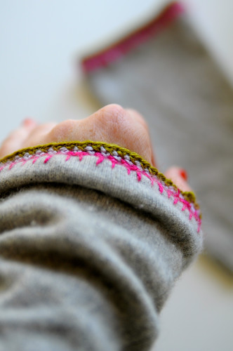 cashmere wrist warmers