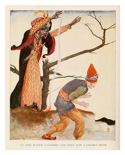 005-More tales from the Arabian nights 1915-ilustrado por Willy Pogany