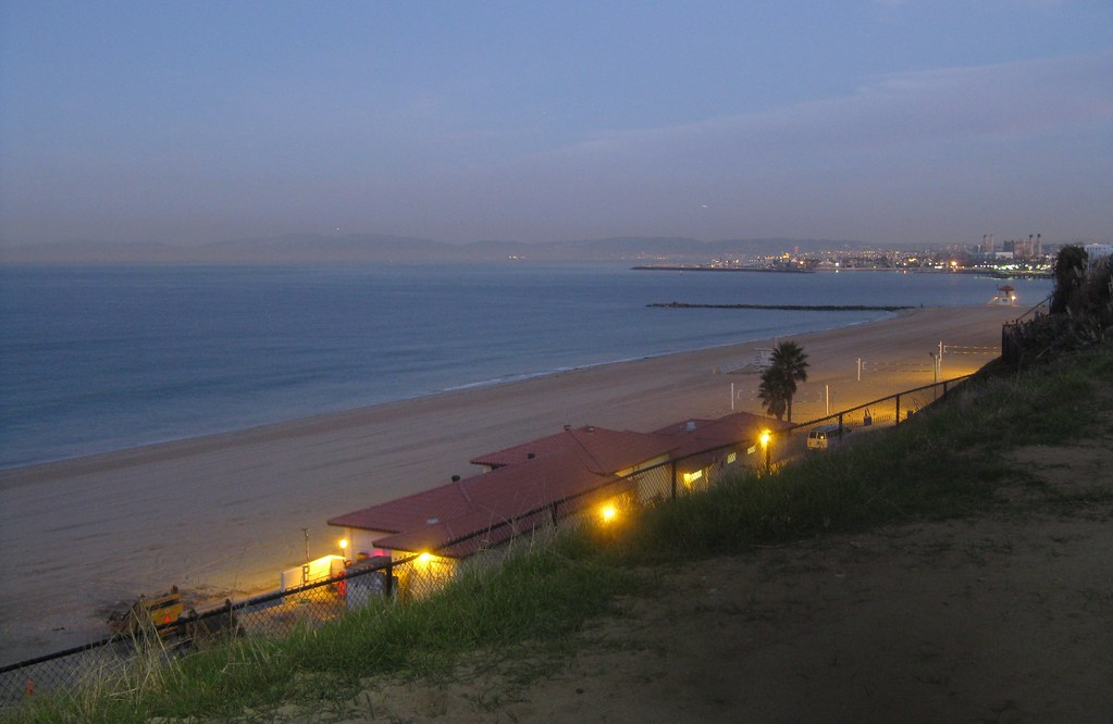 Santa Monica Bay at Dawn