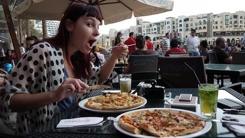 Vapiano pizza Dubai