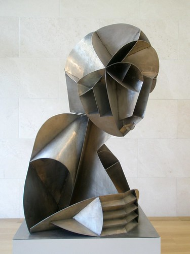 Naum Gabo 'Constructed Head #2' by hanneorla