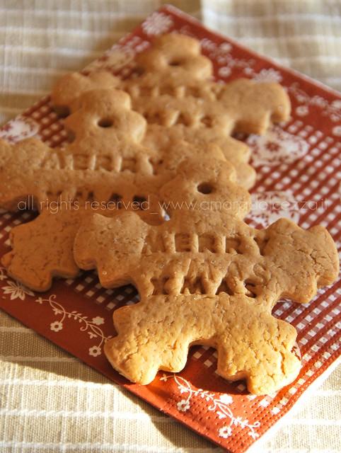 gingerbread fiocco di neve