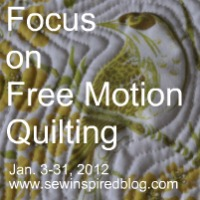focus on free motion quilting
