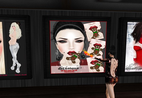 .:: Delusions ::. Oh Noes Dont Eat Me - Gingerbread men, 90 lindens by Cherokeeh Asteria