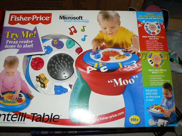 Fisher price Intelli Table $25  Flickr  Photo Sharing!