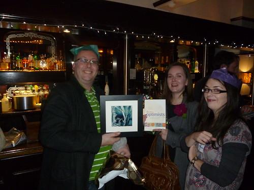 @podnosh, @catharker & @louiseholgate with gifts