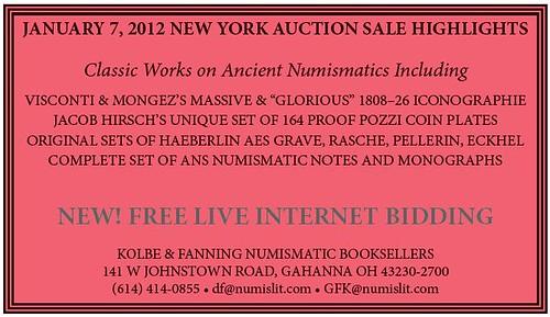 Kolbe-Fanning Sale 123 ad 2011-12-18