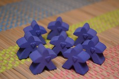 Meeples with heart