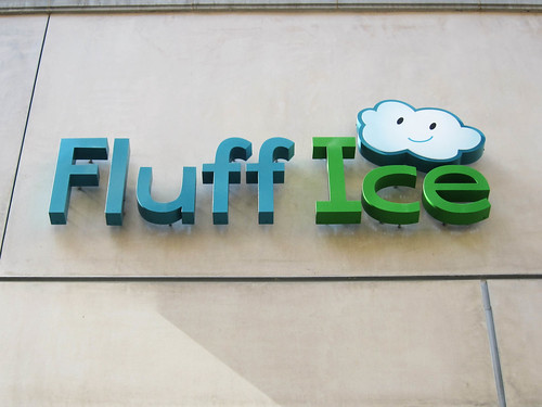 Checking Out Fluff Ice