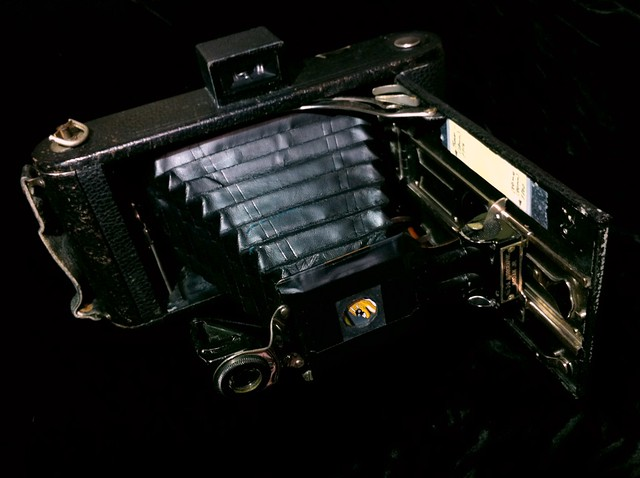 Kodak 3A Jr. pinhole