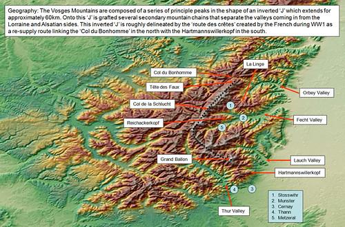 Vosges_Topography