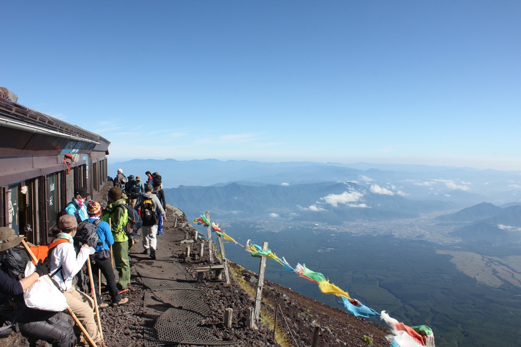 Mt. Fuji experience report (Yoshida route) Part4 (16)