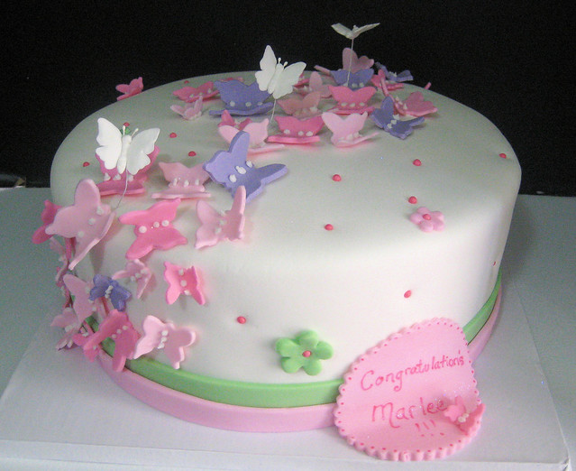 Cake Images Butterfly : butterfly cake Flickr - Photo Sharing!