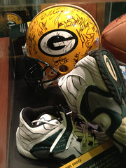 1996 Championship Helmet & Shoes