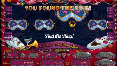 Masquerade Ball free spins