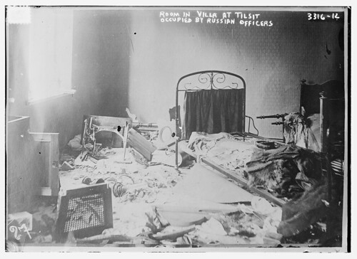 Room in villa at Tilsit occupied by Russian officers  (LOC)
