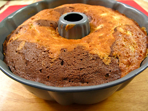 IMG_0291 Marble Banana Bundt Cake
