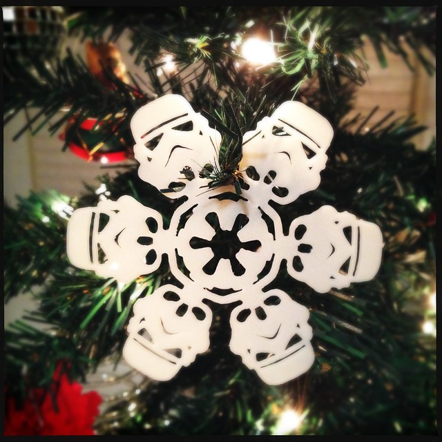 My Christmas tree wins #starwars