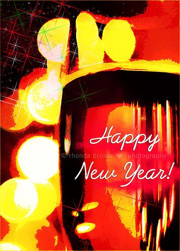Happy New Year! by Rhonda Broich Photography