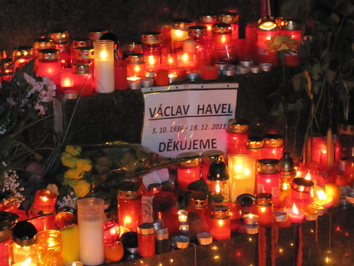 The day Václav Havel died