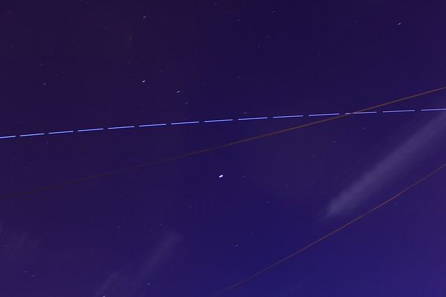 ISS over Jupiter