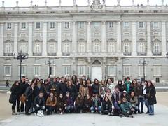 En el Palacio Real. Madrid 2011