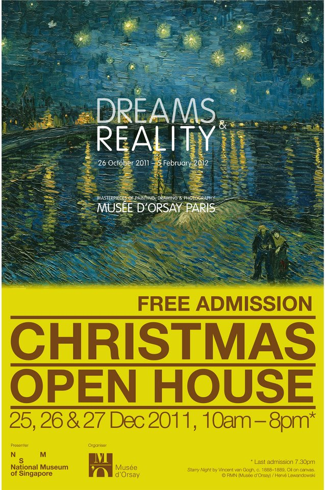 Free entry to Dreams and Reality this Christmas