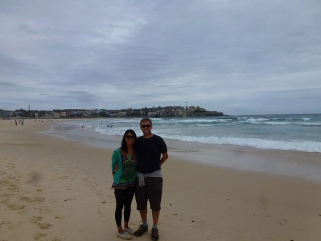 On Bondi Beach