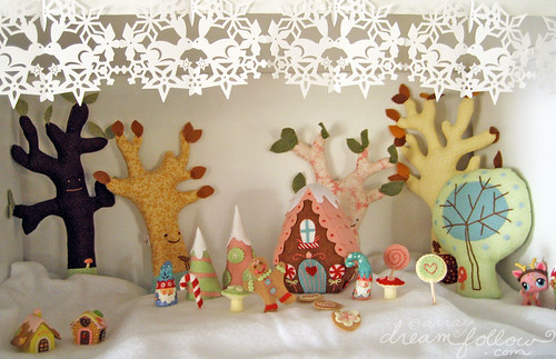 christmas candyland shelf
