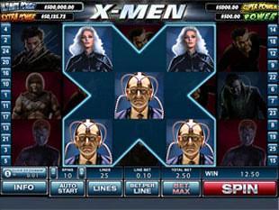 X-Men Bonus Game