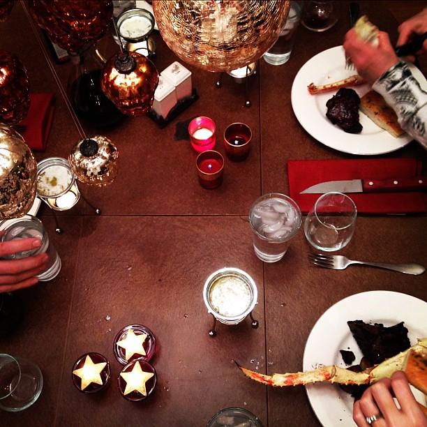 dinner @ the scherling house