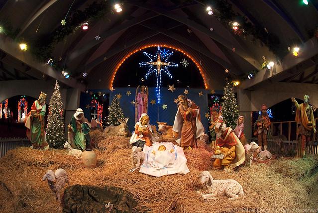 Outdoor Nativity Scene at LaSalette   Flickr - Photo Sharing!