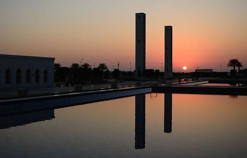 sunset reflection sunrise hotel dubai ngc uae abudhabi hotels luxurious