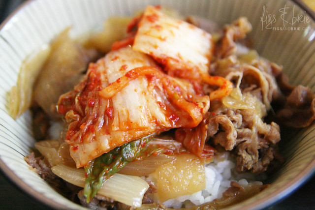 Kimchi Beef Bowl, Menya Oiden