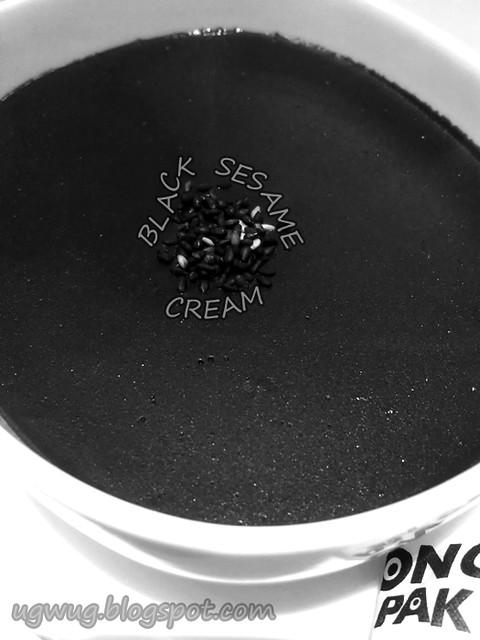 Black Sesame Creme