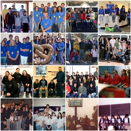 Quiz Teams Over the Years