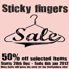 Sticky fingers sale