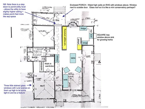 revised old house plan