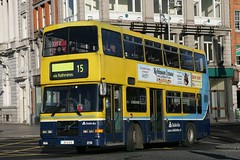 RV475 turning from Eden Quay to O'Connell Bridge, buses will no longer be able to do this as bus termini moved to new locations