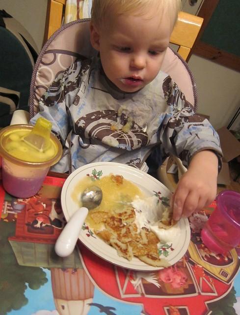 Potato pancakes!