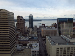 Downtown Seattle and Puget Sound