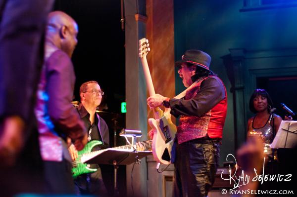 Carlos Santana Band Leader