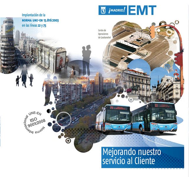Folleto EMT Madrid