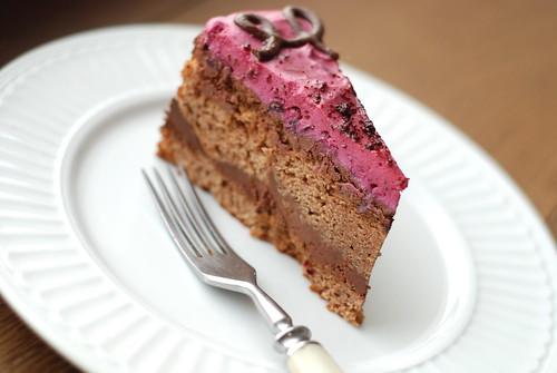 šokolaadi-mustsõstrakook