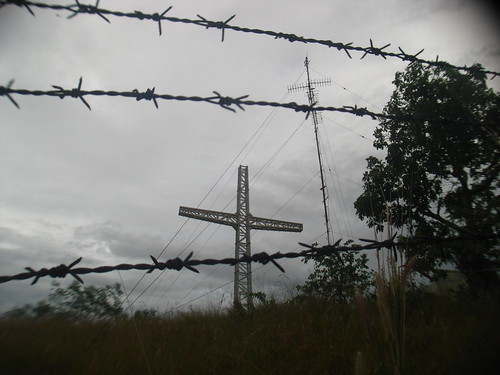 Tapyas Cross, Antenna, and Barbed Wire