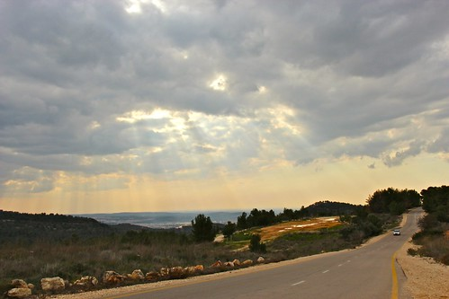 road sky clouds canon eos israel view cloudy jerusalem dos 600 oldcity ericdemarcq
