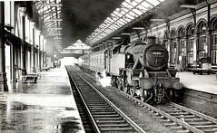 Preston Railway Station in 1966