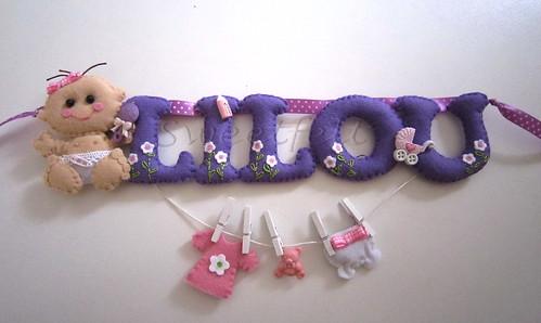 ♥♥♥ Lilou ... by sweetfelt \ ideias em feltro
