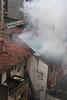 Fire in Colindres - Incendio en Colindres