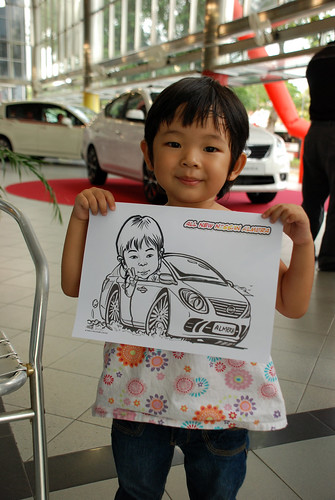 Caricature live sketching for Tan Chong Nissan Almera Soft Launch - Day 2 - 36